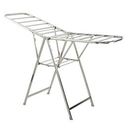 Laundry Drying Rack ,Winged Folding Clothes Airer Stainles