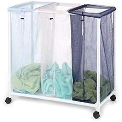 Laundry Storage & Organization Homz Triple Clothing Sorter W