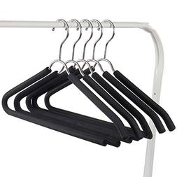 LIANGJUN Clothes Hangers Coat Pants Stainless Steel Non-slip