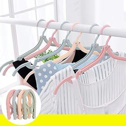 LIANGJUN Clothes Magic Hangers Foldable Multifunctional Port