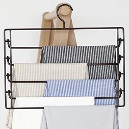 LIANGJUN Scarf Pants Hangers Multifunctional Drying Rack Pac