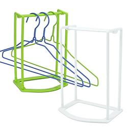Standing Clothes Hanger Stacker Holder Drying Rack Caddy 2 p