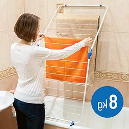 Art Moon Collapsible Over Bath Tub Drying Rack, Sturdy Rack