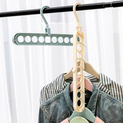 Magic Save Space Hanger Storage Clothes Rack Organizer Space