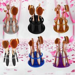 Makeup Brush Holder Case Display Drying Rack Stand Cosmetic