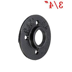 Malleable Threaded Floor Flange Iron Bass Pipe Fittings Wall