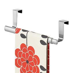 mDesign Adjustable, Expandable Kitchen Over Cabinet Towel Ba