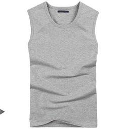 Men Boy Body Compression Base Layer Sleeveless Summer Vest T
