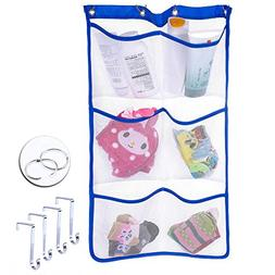 Havenport Mesh Shower Organizer Hanging Caddy with 6 Pockets