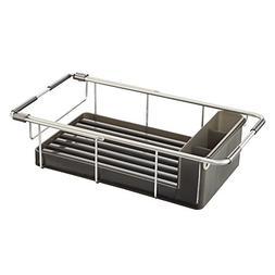InterDesign Metro Rustproof Aluminum Over-the-Sink Dish Drai