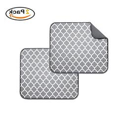 Microfiber Dish Drying Mat for Kitchen, Quickly Absorb Moist