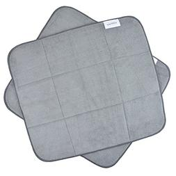 Microfiber Dish Drying Mat for Kitchen XL Absorbent Drying M
