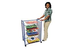 Colorations Mobile Classroom Drying Rack