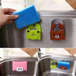 Modish Goodly Soap Sponge Suction Drying Holders Home Kitche