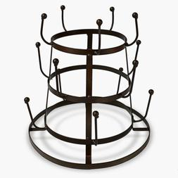 15pc Mug Tree Holder Drying Rack Stand Cup Glass Tea Coffee