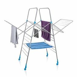 Minky Multi Dryer Drying Rack, 78', Silver