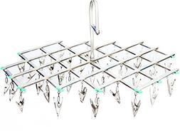 LXY Multi-function Metal Pull Net Type Windproof Drying Rack