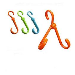 maxgoods Multi-Function Plastic Double Hooks Shoes Hanger Sh