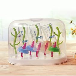 Johnnyhh Multi-Functional Anti-Bacterial Baby Bottle Drying
