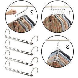 Multi Racks Hooks Wardrobe Closet Organizers Clothes Hangers
