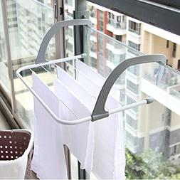 Multifunction Foldable Outdoor Clothes Drying Rack Bathroom