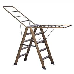 Drying Racks Multifunction Ladder Dual-use Aluminum Alloy In