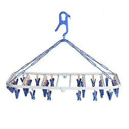 Multifunctional Baby Clothes Socks Drying Rack Clip and Drip