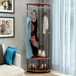 Multifunctional Coat Rack Drying Rack Telescopic Clothes Dry