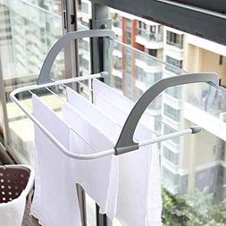 LOVELY Multifunctional Metal Hook Type Folding 5 Bar Towel H
