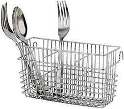 Neat-O Sturdy Chrome-Plated Steel Utensil Drying Rack Basket