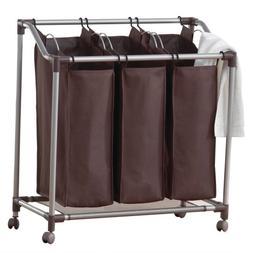 neatfreak U5440-EFE Deluxe Triple Laundry Sorter with Everfr