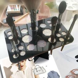 Makeup Cosmetic Brushes Hanger Dryer Organizer Holder Drying