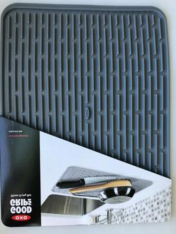 New Large OXO Good Grips Silicone Drying Mat and Trivet - Re