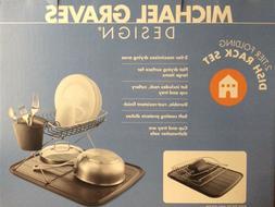 New NIB MICHAEL GRAVES Design Modern Dish Drying Rack