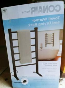 NIB Conair Home Towel Warmer and Drying Rack - 6 Bars