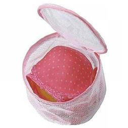 Ligntean Nice Zipper Lingerie Storage Net Washing Machine Br