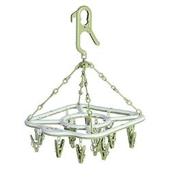 Quality Non-Slip Clothes Drying Rack Clip and Drip Hanger 18