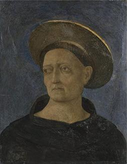 'Domenico Veneziano Head Of A Tonsured Beardless Saint ' Oil