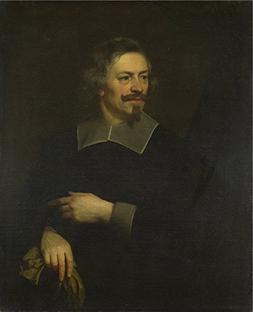 'Flemish Portrait Of A Man ' Oil Painting, 10 X 12 Inch / 25