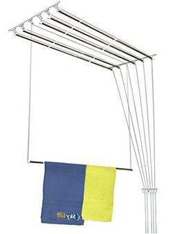 Skylift One by One Aluminum Ceiling Mounted Cloth Drying lau