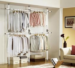 One Touch Double 2 Tier Adjustable Hanger | Prince Hanger |