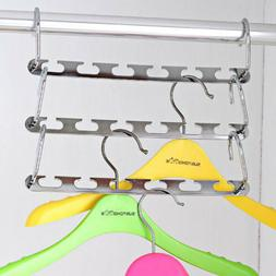 Organizer Clothes Storage Hanger Home Garments Holder Drying