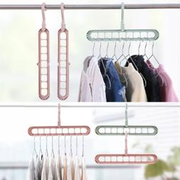 Organizer Clothes Storage Hanger Home Garments Holder Drying