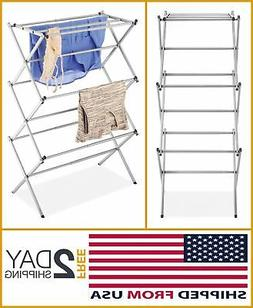 OUTDOOR Drying RACKS For Laundry FOLDABLE Expandable Indoor