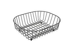 Delfinware Oval Sink Basket Dish Rack in Grey