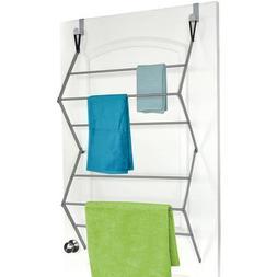 HOMZ Over-the-Door Metal Garment Drying Rack