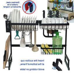 over sink dish drying rack 2 tier