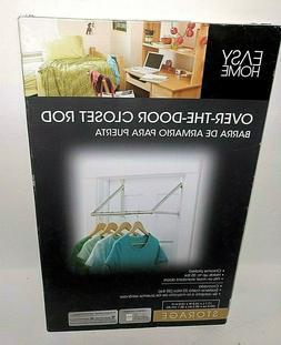 Over The Door Closet Rod Dry Clothes Organizer Storage Hangi