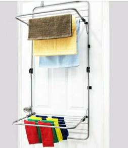 Over The Door Drying Rack By Storesmith color White