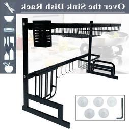Kitchen Dish Drying Rack 3 Tier Drainer Dryer Holder Organiz